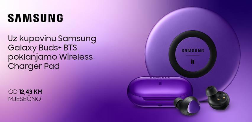 Samsung Galaxy Buds+ BTS Limited Edition samo u ponudi BH Telecoma!