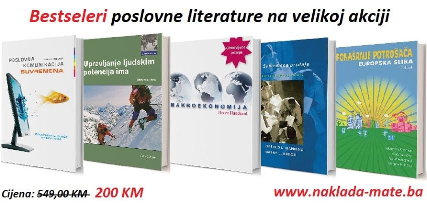 Bestseleri poslovne literature na velikoj akcijskoj ponudi
