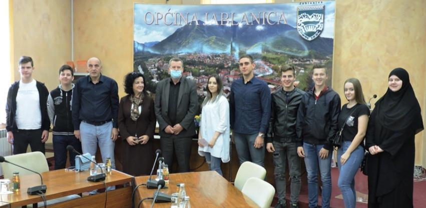 Načelnik općine Jablanica upriličio prijem za 44. generaciju maturanata