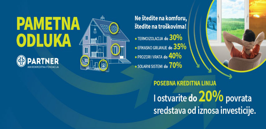 Preko energijske efikasnosti do donacije od 10% do 20%