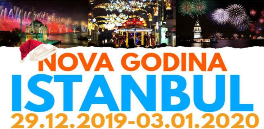 Dočekajte Novu godinu u Istanbulu