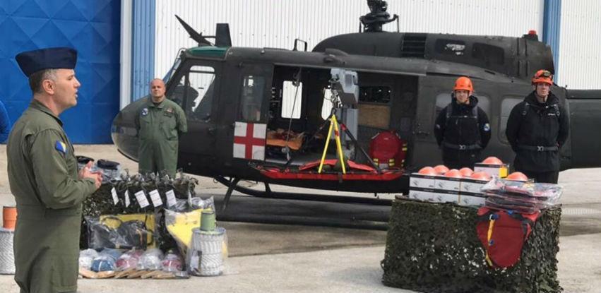 Oružane snage BiH dobile novu opremu zahvaljujući sredstvima Vlade UK
