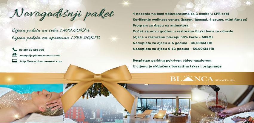 Novogodišnja ponuda Hotela Resort & Spa Blanca
