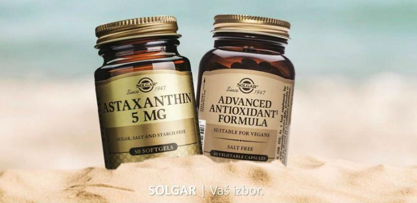 Savršena kombinacija za ljeto: Solgar Astaksantin i Advanced Antioxidant Formula