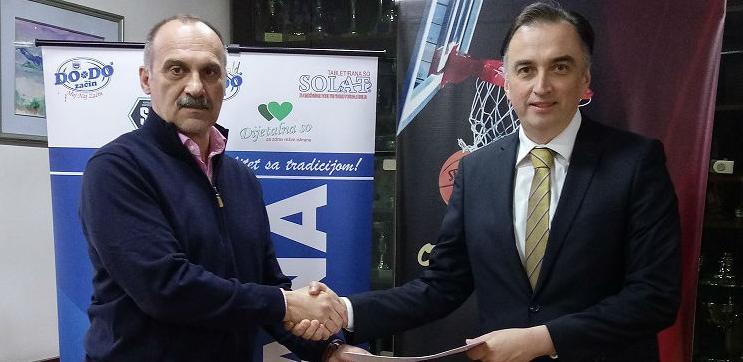 OKK Sloboda i Solana d.d. Tuzla potpisali sponzorski ugovor