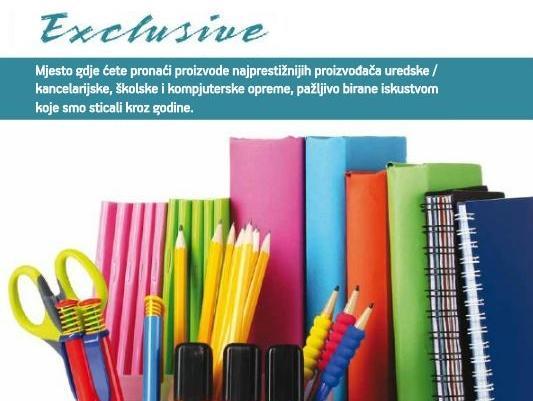 Exclusive: Prepoznatljiv po ponudi kvalitetnih i provjerenih robnih marki