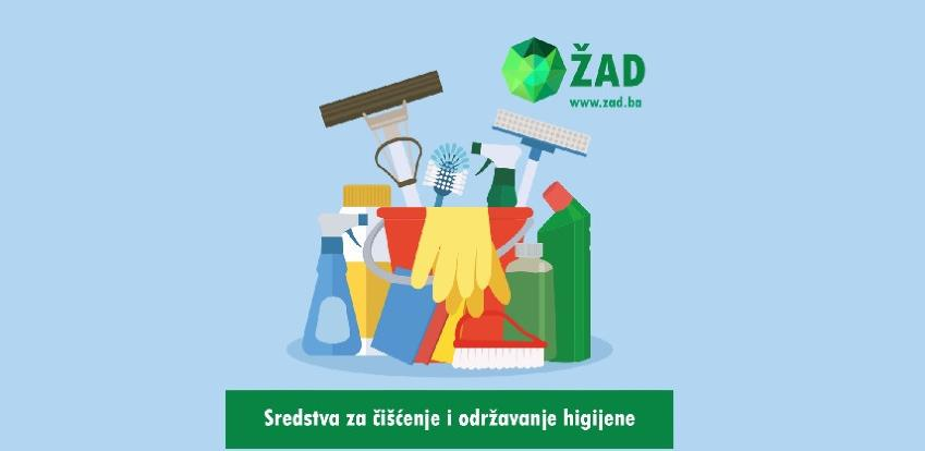 Sredstva za održavanje higijene po pristupačnim cijenama samo u ŽAD Store