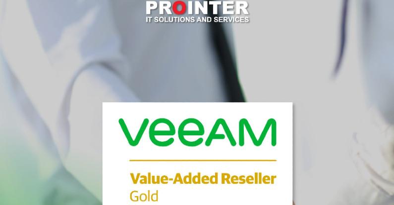 Prointer ITSS Gold Partner kompanije Veeam