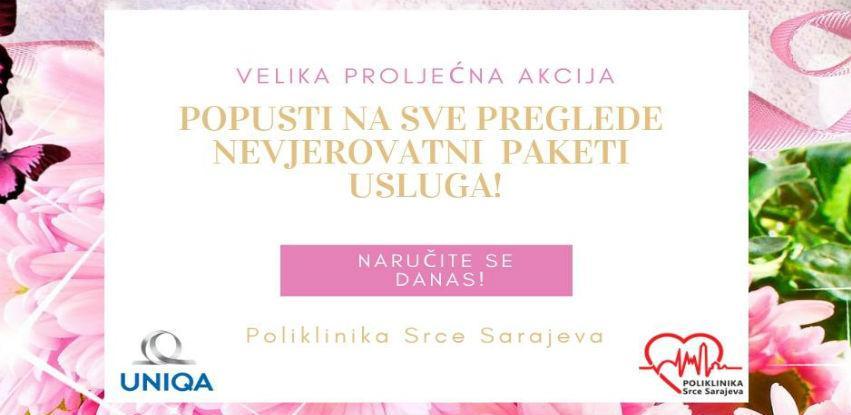 Velika proljetna akcija u Poliklinici Srce Sarajeva