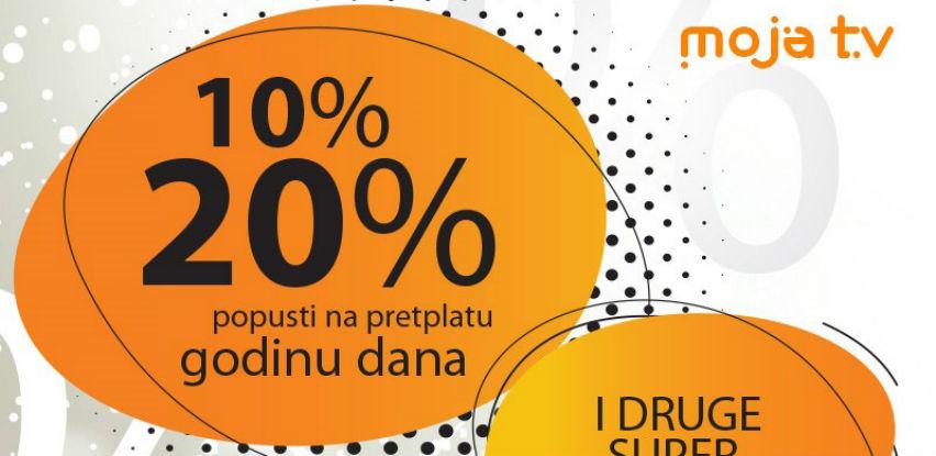 Produžena super akciju BH Telecom-a: Moja TV – Tvoja ušteda!