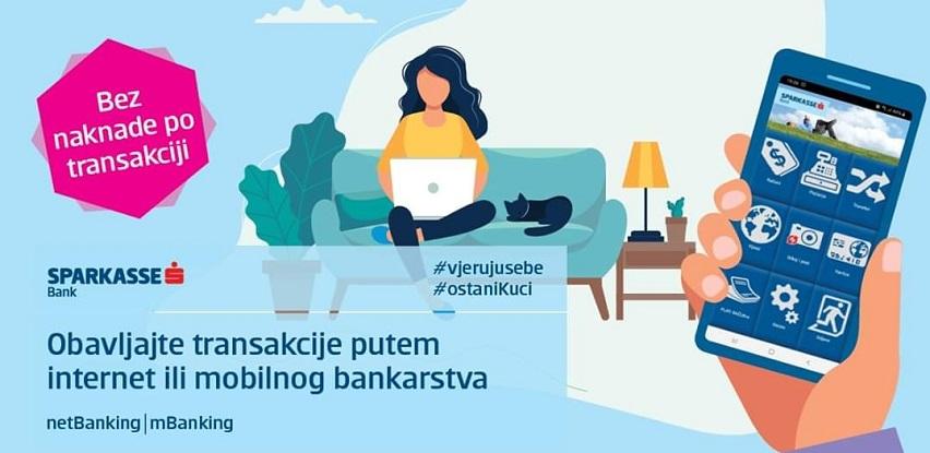 Akcijska ponuda elektronskih servisa u Sparkasse Bank