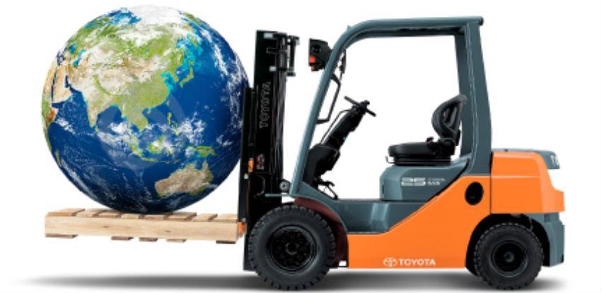 Sa Toyota viljuškarima brinete o okolišu