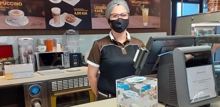 Donatorske kućice SOS Dječijih sela BiH od danas i u McDonald's-u