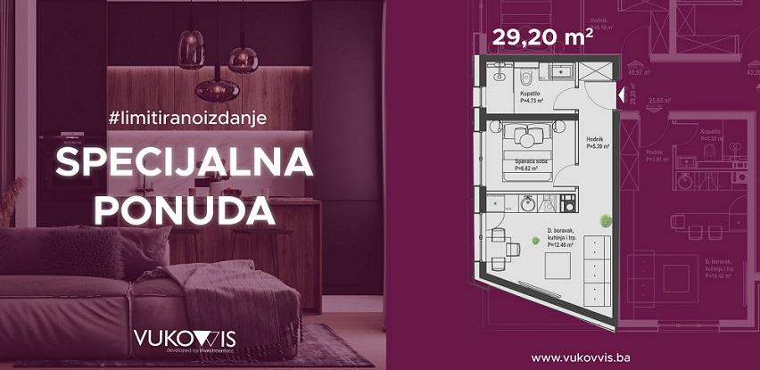 Iskoristite specijalnu ponudu za kupovinu apartmana