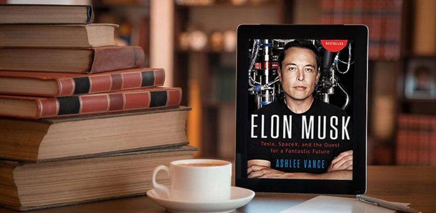 Elon Musk najprodavanija poslovna knjiga u ponudi Naklade Mate