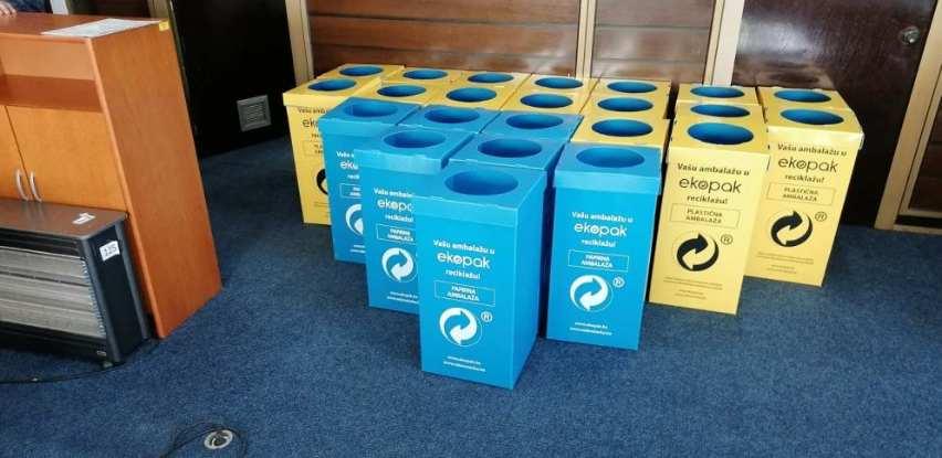 Ekopak uspješno uvodi državne institucija u sistem reciklaže