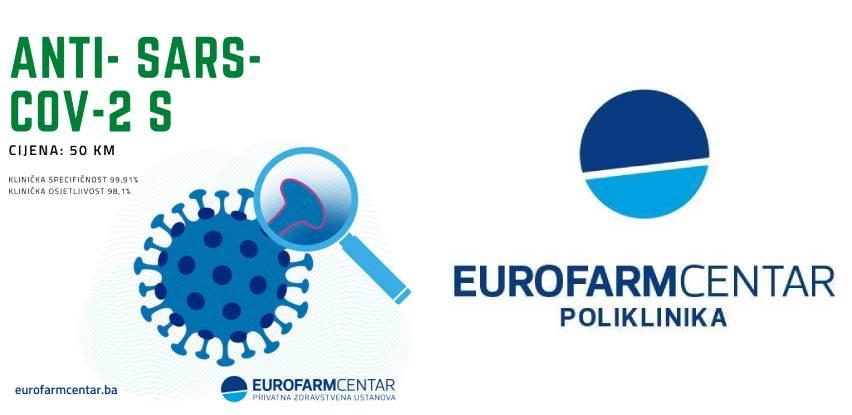 Posjetite Eurofarm Centar i saznajte količinu stvorenih antitijela u organizmu