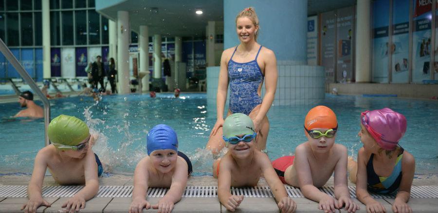Amina Kajtaz najmlađim plivačima prenijela svoja iskusta