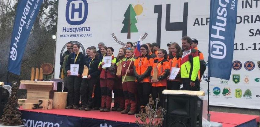 Husqvarna: Generalni sponzor Alpe-Adria šumarske olimpijade