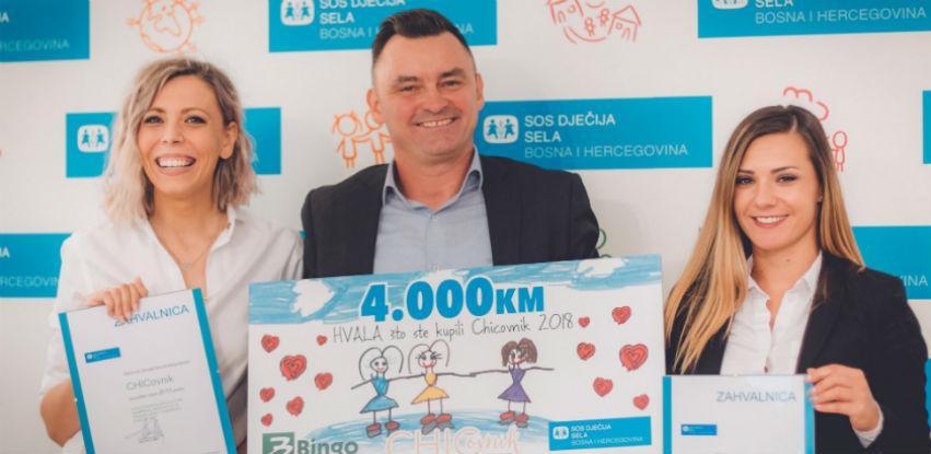 CHICovnik i Bingo za bezbrižan početak školske godine u SOS Dječijim selima BiH