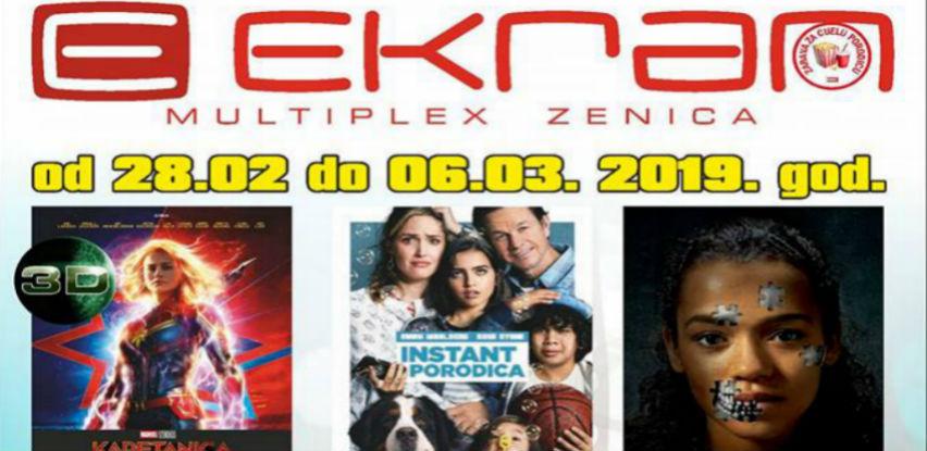 """Pred vama je još jedna uzbudljiva filmska sedmica u Multiplexu """"Ekran""""Zenica"""