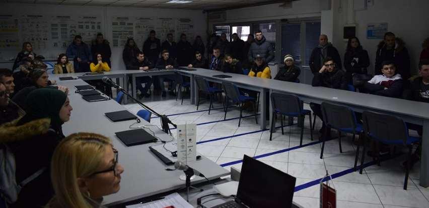 Učenici Srednje saobraćajne škole Tuzla posjetili Centrotrans Auto bazu
