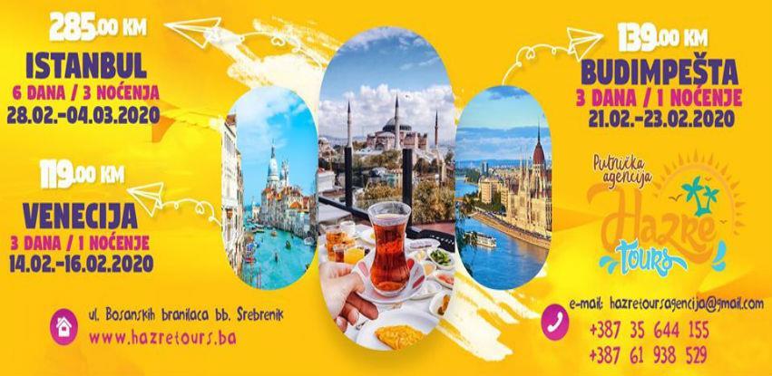 Provedite najkraći mjesec u godini na nekoj od destinacija Hazre Toursa