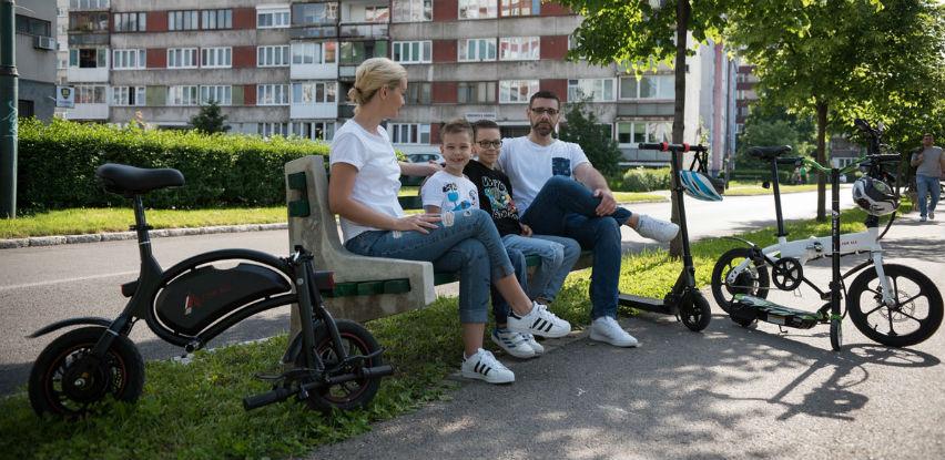 E-Bicikl idealan za svakodnevnu vožnju na posao, u školu ili kupovinu