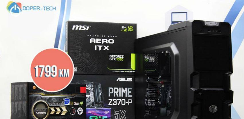 NOVO! TOP GAMING PC čijim komponentama nećete moći odoljeti!