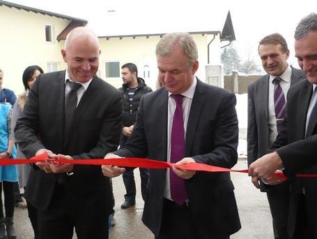 U Gradišci otvorena fabrika tekstila