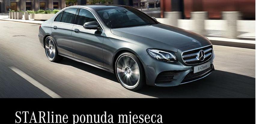 """Starline"" ponuda mjeseca Mercedes-Benz E220 d 4MATIC"