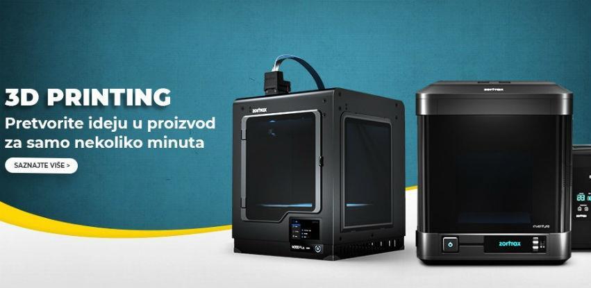 3D printeri - Pretvorite ideju u proizvod za samo nekoliko minuta