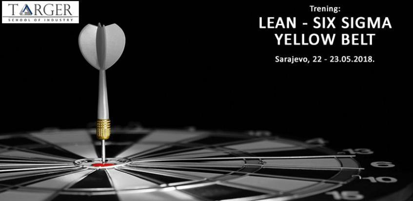 Učinite početni korak i prijavite se na trening Lean Six Sigma Yellow Belt