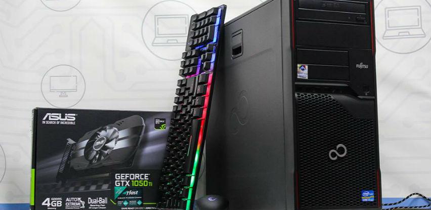 Fujitsu W410 za strastvene gamere