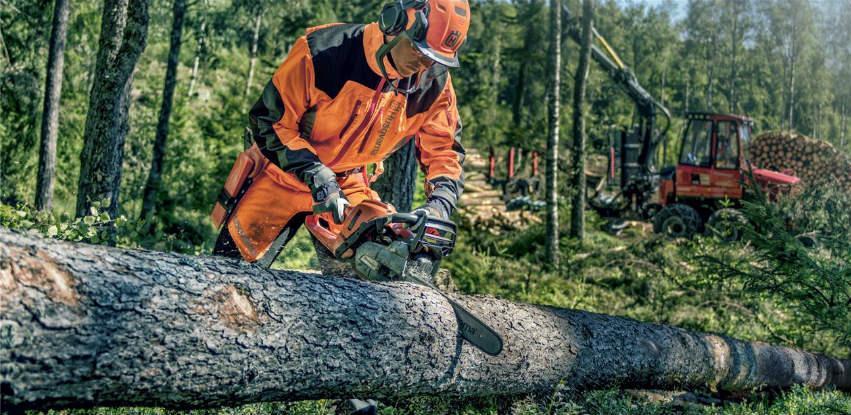 Husqvarna alat za šumu i zaštitna odjeća