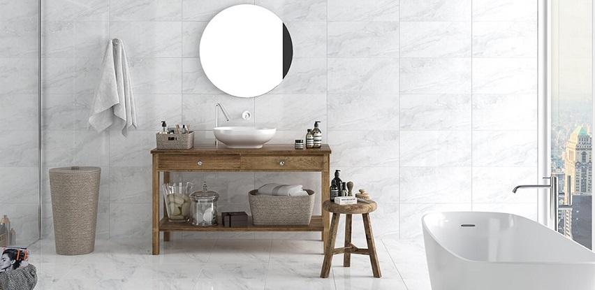 Helena Glossy white pločice idealne za postavljanje u kupaonicu!