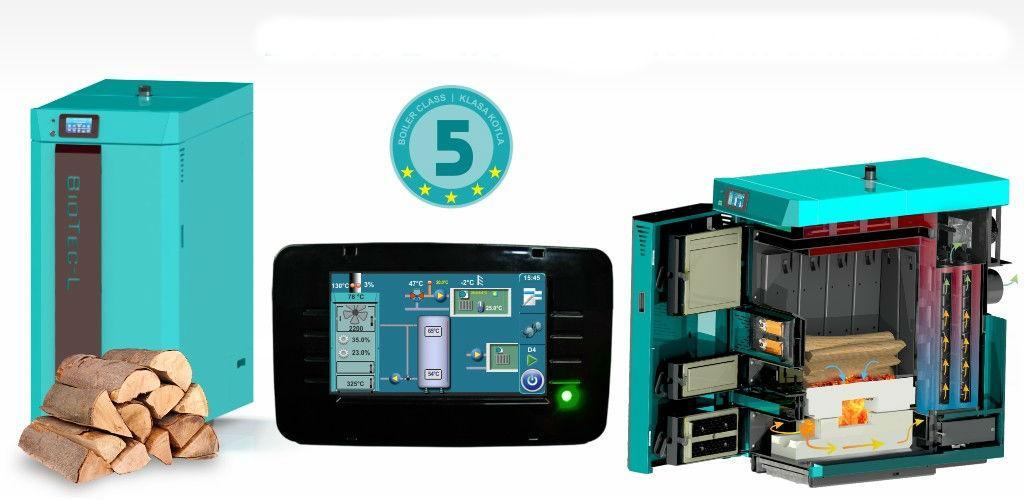 BioTec-L namijenjen za grijanje od najmanjih do objekata srednjih veličina