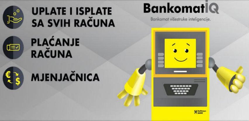 Probajte nove multifunkcionalne bankomate Raiffeisen banke