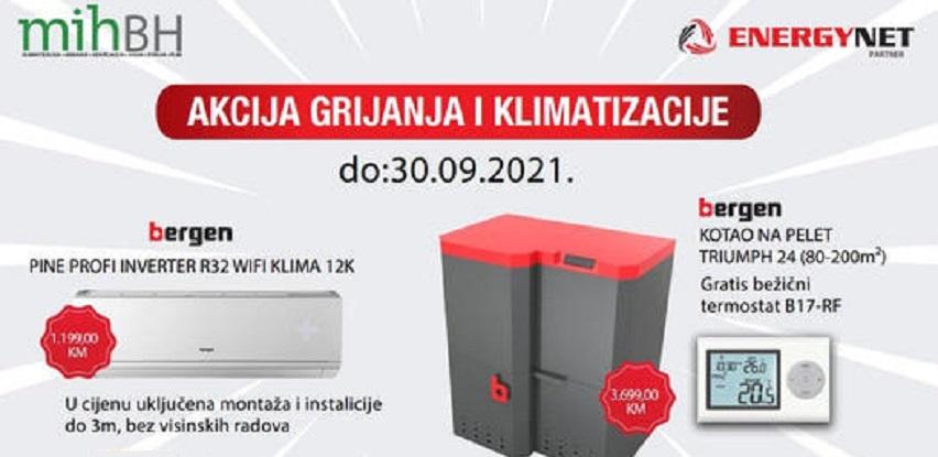 Akcija grijanje I klimatizacija do 30.09.2021