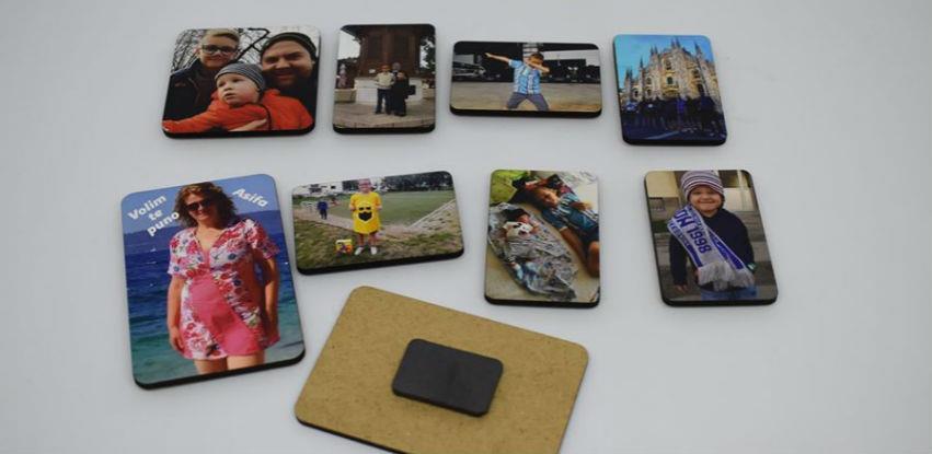 Novo u ponudi Pamuk doo: Drveni magneti rađeni UV štampom (Foto)