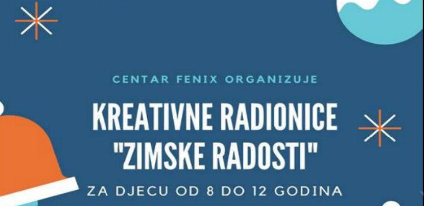 """Centar """"Fenix"""" organizuje kreativne radionice za djecu od 8-12 godina"""
