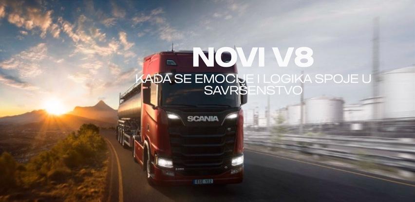 Scania BH predstavlja novi legendarni V8