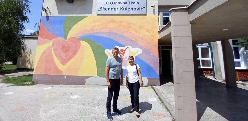 Donacija Addiko Bank Sarajevo OŠ Skender Kulenović u Zenici