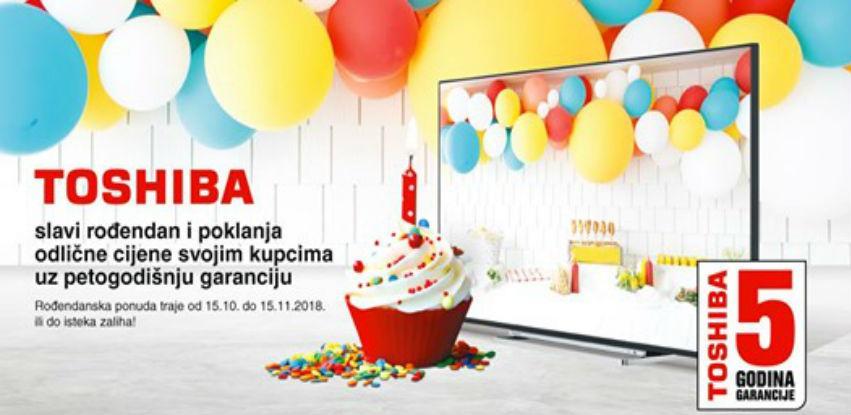 Techno Shop proslavlja Toshibin rođendan