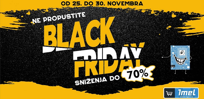 Ne propustite black friday sniženja i do 70% u Imel-u
