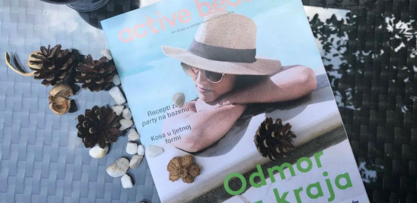 Odmor bez kraja uz omiljeno ljetno štivo - active beauty časopis!