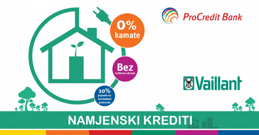 Posebna akcija Vaillanta i ProCredit Bank-e