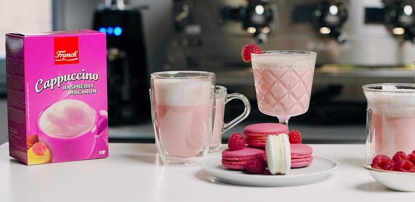 Otkrij novi okus Franck Cappuccina - Raspberry Macaron! (Foto+VIdeo)