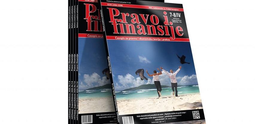 Mjesečni stručni časopis  za pravnu i ekonomsku teoriju i praksu
