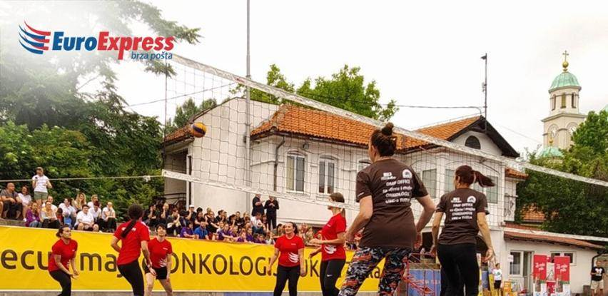 Kompanija EuroExpress učestvovala na humanitarnom odbojkaškom turniru